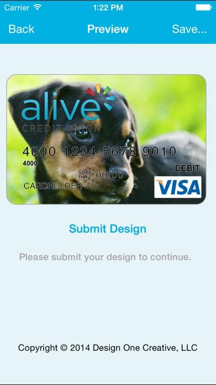 Alive Credit Union Spark My Card screenshot-4