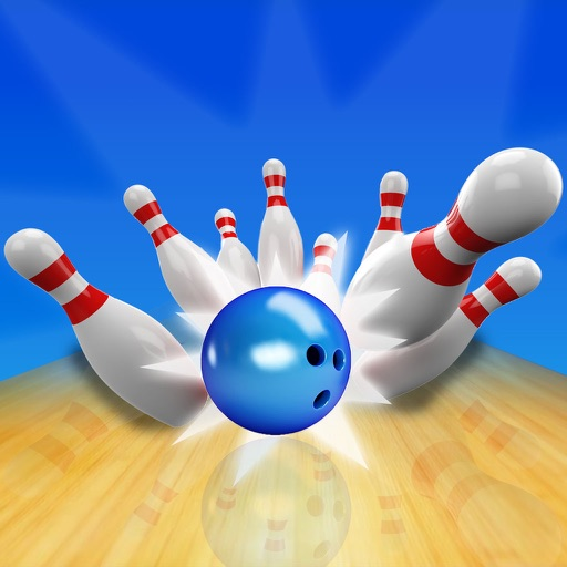 3D Bowling Free : Best Bowling Allay Game-s