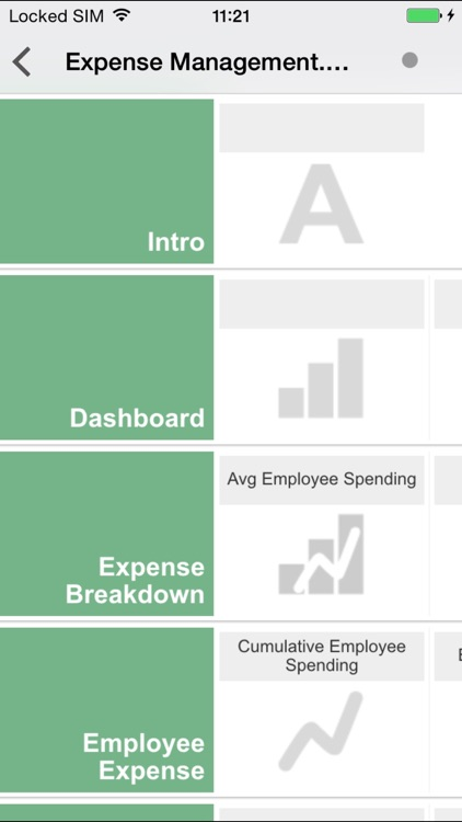 QlikView mobile screenshot-1