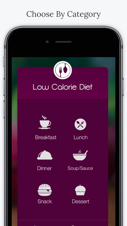 Low Calorie Diet. screenshot-1