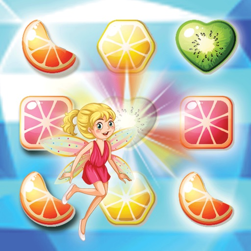 Match 3 jelly fruit crush game