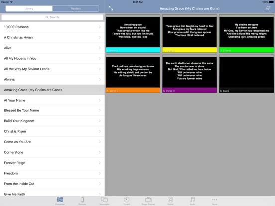 ProPresenter Remote by Renewed Vision LLC (iOS, United Kingdom