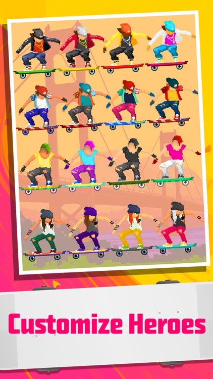 Halfpipe Hero - Retro Arcade Skateboarding screenshot-4
