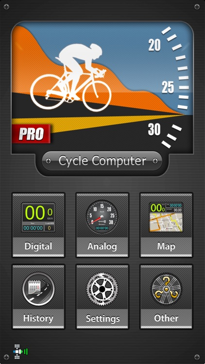 CycleComputer Pro GPS - Cycling and route tracking