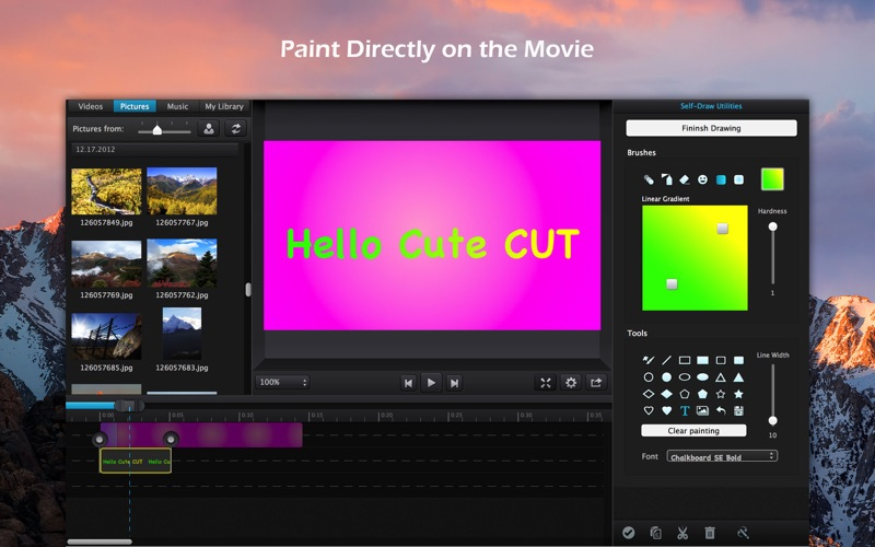 Cute Cut Pro For Mac