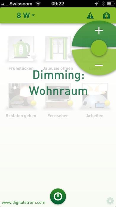 digitalSTROM DashboardScreenshot von 3