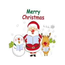 Merry Christmas Stickers Vol2