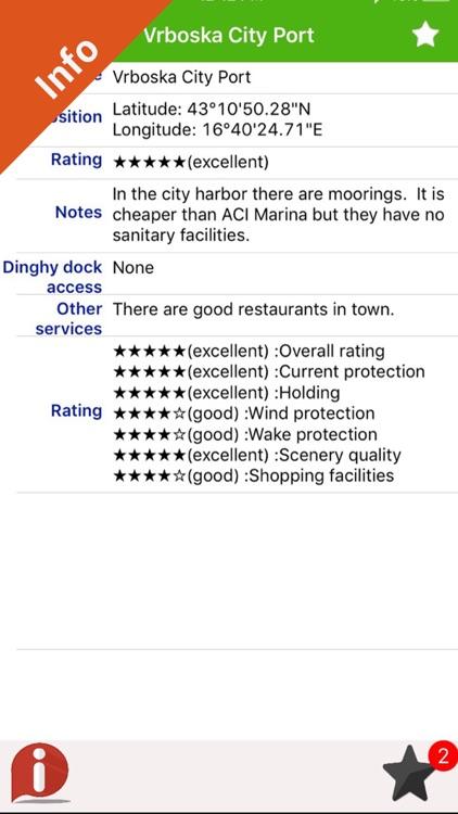 Adriatic sea GPS HD nautical charts fishing map screenshot-3