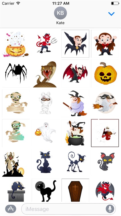 Halloween Stickers Spooky Edition