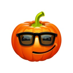 Halloween Pumpkin Emoji Stickers for iMessage