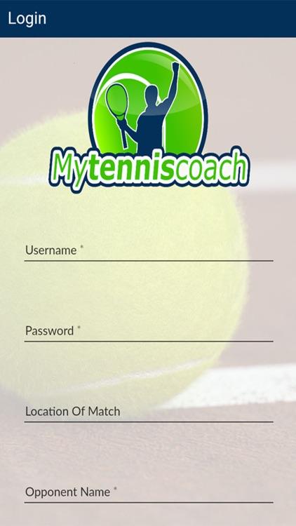 My Tennis Coach