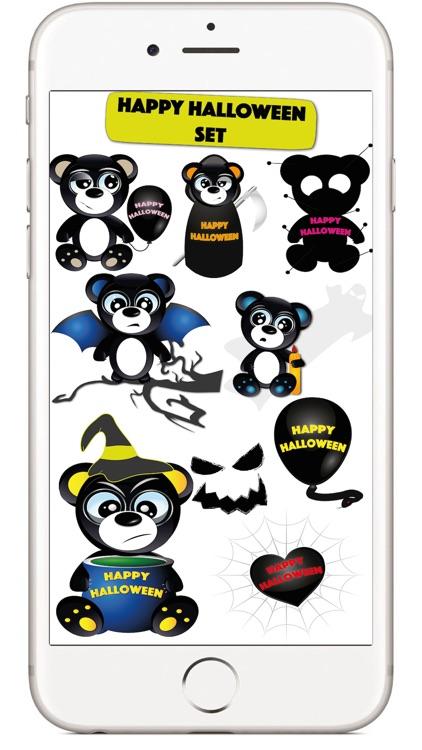 Halloween & Baddy Bear