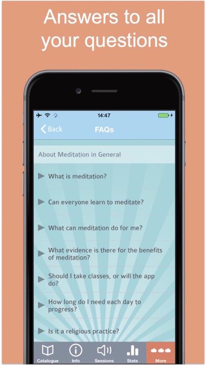 Zenfie Mindfulness Meditation screenshot-3