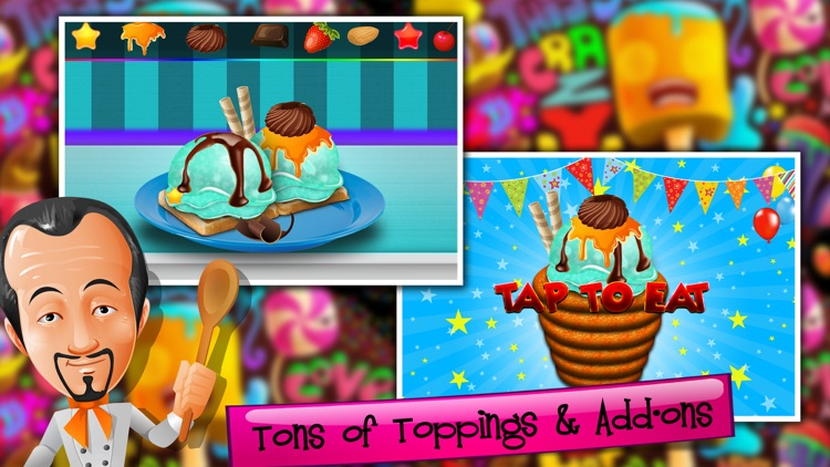 Churro Ice Cream Maker - Icecream Sweet Madness screenshot-4