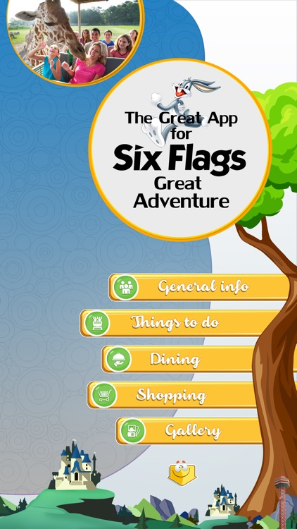 The Great App for Six Flags Great Adventure