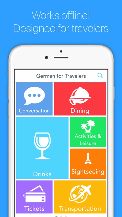 English to German Translator for Travelers