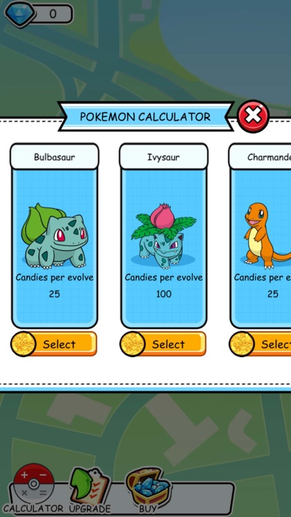 Poke Evolution CP IV Calculator for Pokemon GO
