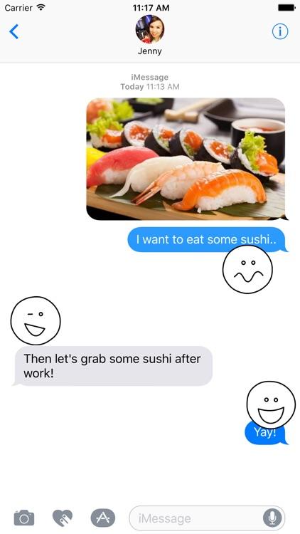 Stick Emoji for iMessage