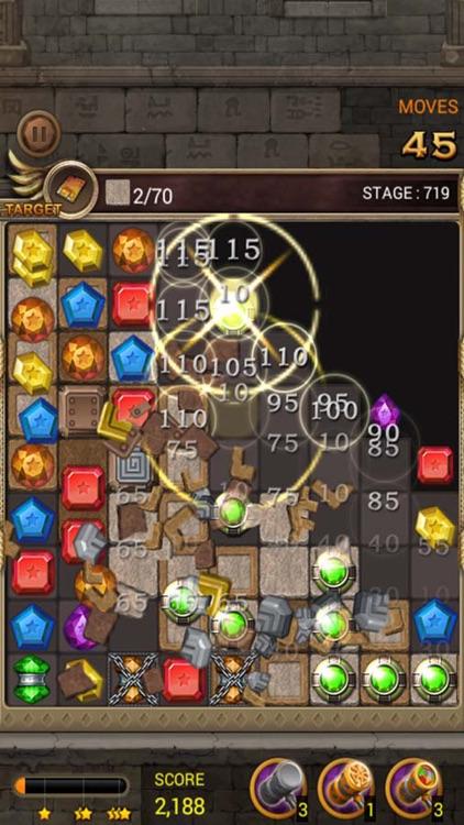 Jewels Temple Quest : Match 3 screenshot-3
