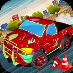 Pickup Truck Barons - Monster Truck Racing Games