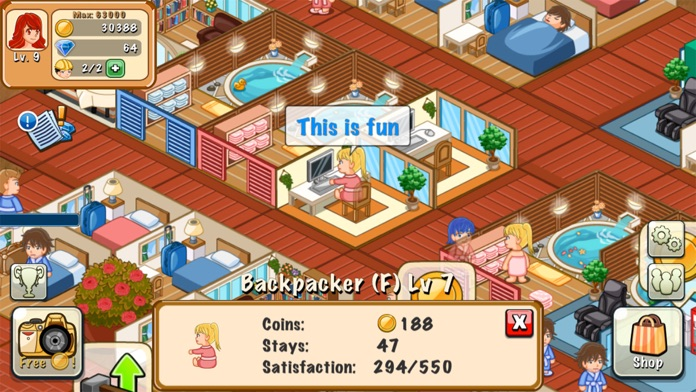Hotel Story Screenshot