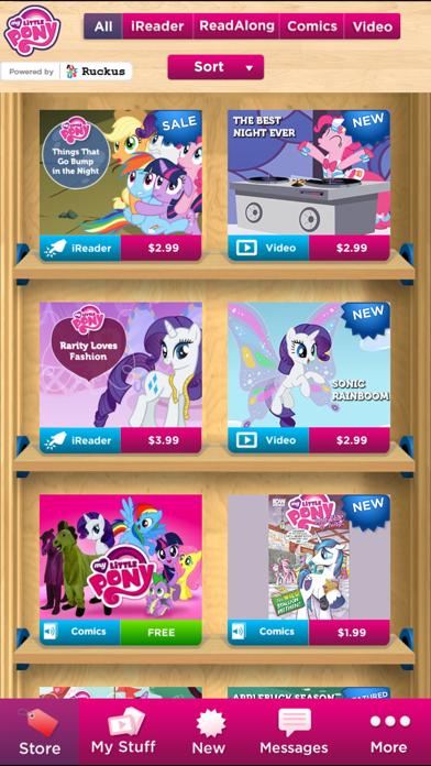 My Little Pony eBooks + Comics