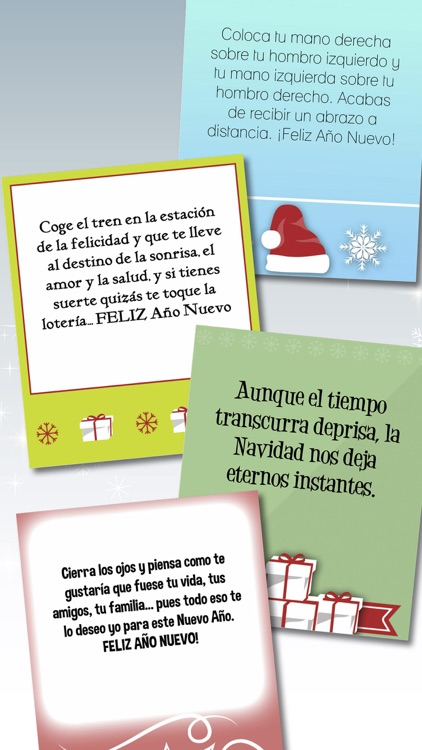 Christmas & New Year greeting messages in Spanish screenshot-3