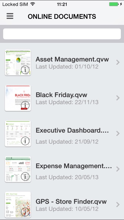 QlikView mobile screenshot-4