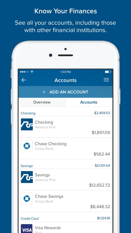 America First Credit Union Mobile Banking screenshot-4