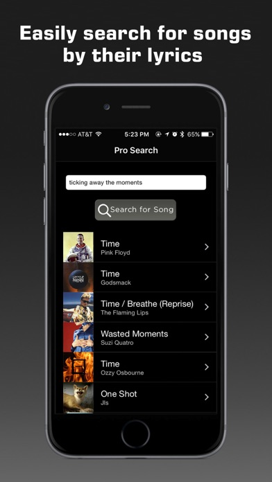 Screenshot for Premium Music Search in United States App Store