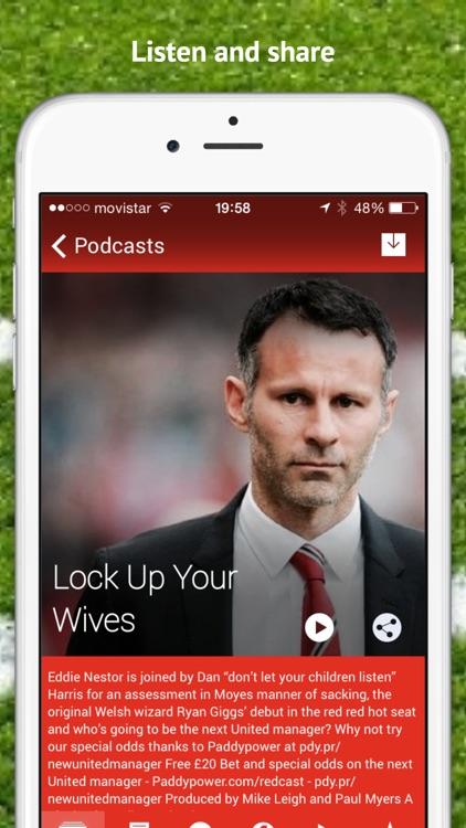Man Utd Redcast - Podcast App