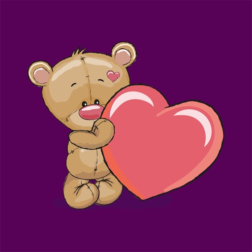 Teddy Bear - Stickers for iMessage