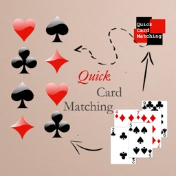 Quick Card Matching - Match Numbers,Colors,Shapes