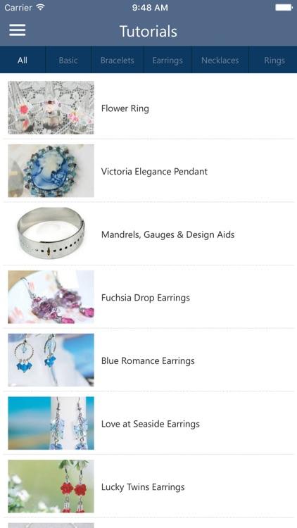 Jewelry Making & Beading APP by ING HUEI WONG