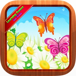 Butterfly Bugs Jigsaw Puzzles Games for Toddlers