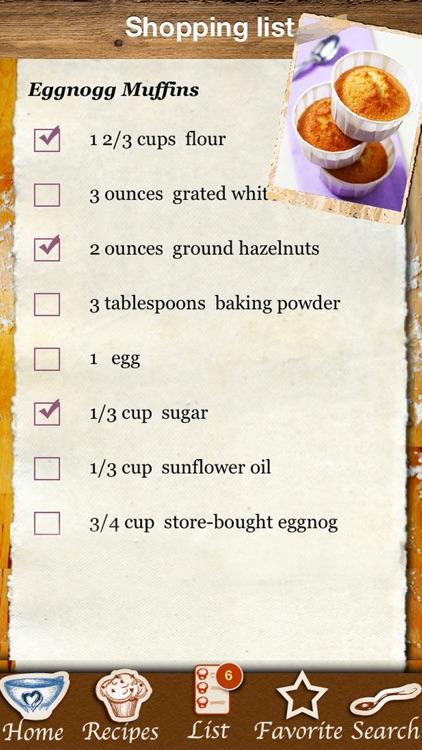Christmas Muffins & Holiday Cupcakes - Recipes screenshot-3