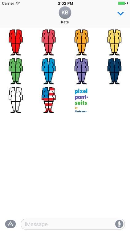 Pixel Pantsuits