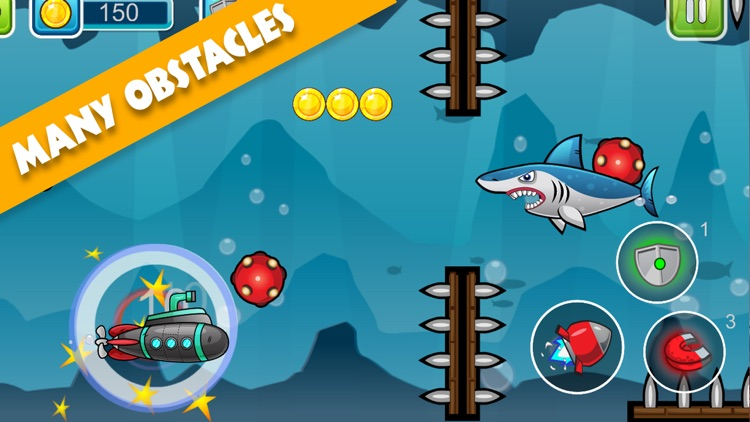 Submarine Adventure: Under The Water Ocean Game screenshot-3