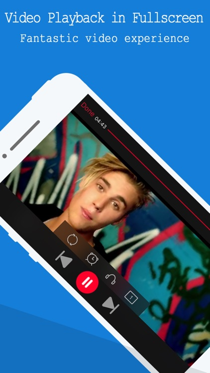 Free Music Player - for YouTube Music Videos & Playlist Manager screenshot-3