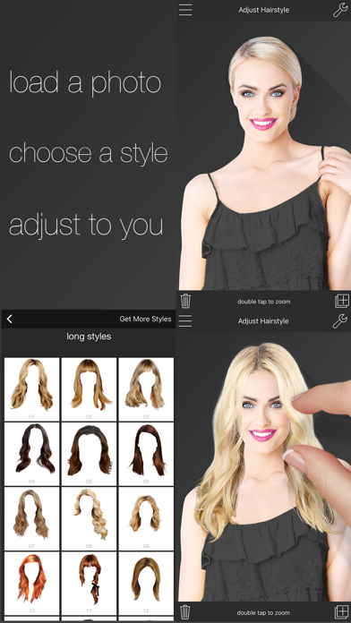 Womens Hairstyles review screenshots