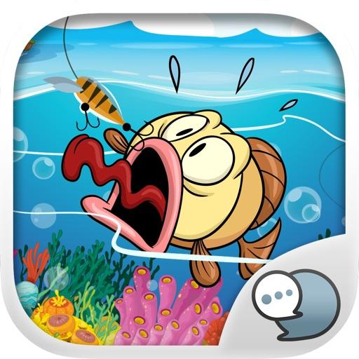 Fishing Emoji Stickers Keyboard Themes ChatStick