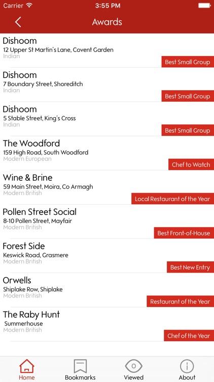 Waitrose Good Food Guide 2017 screenshot-3