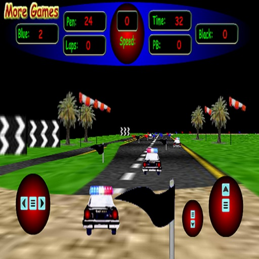 3D Police Racing icon