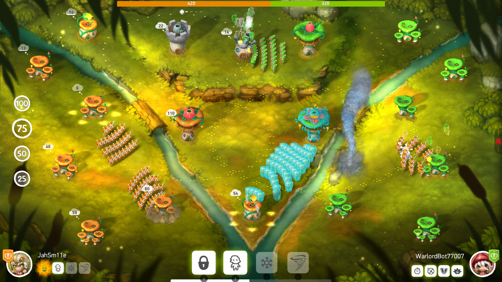 Mushroom Wars 2 - RTS meets TD screenshot 13