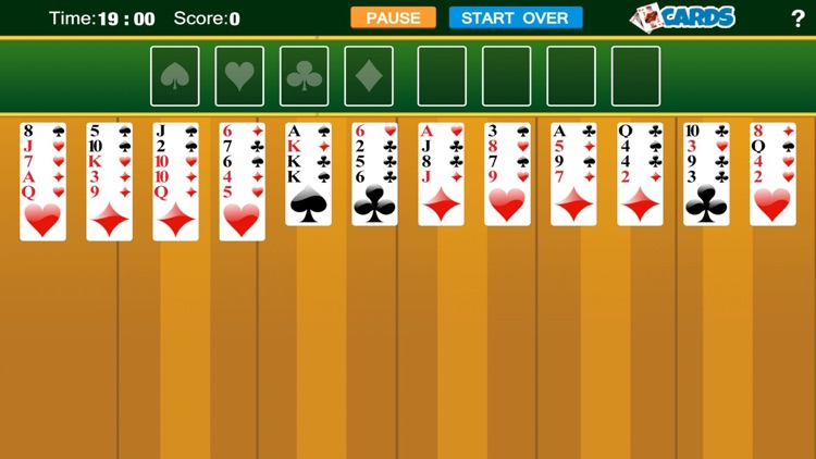 FreeCell-Spider solitaire  card free games screenshot-3