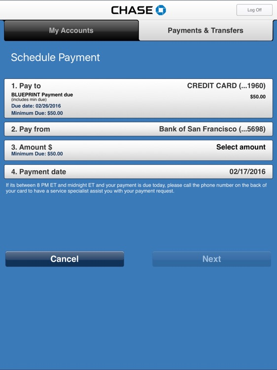 Chase Mobile screenshot-3