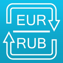 Euro to Russian Ruble currency converter