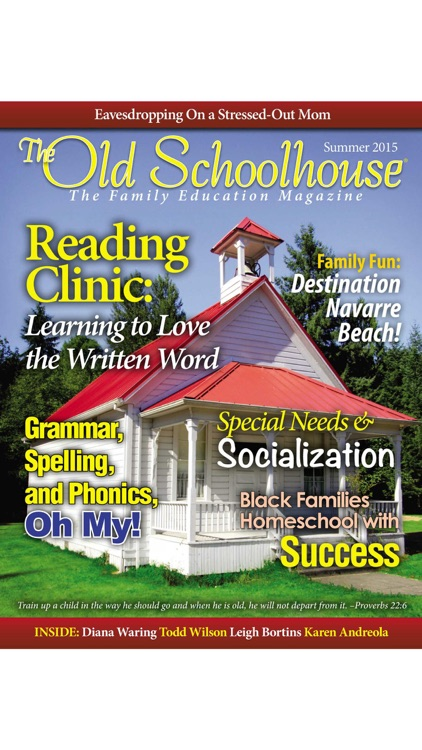 The Old Schoolhouse Magazine screenshot-0