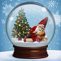 New Year Snow Globe