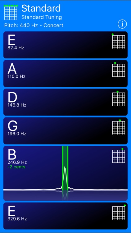 Guitar Tuner! screenshot-1